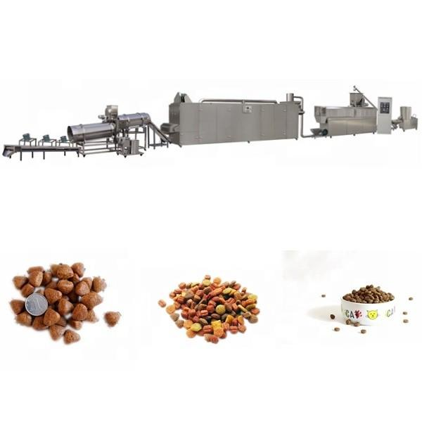 Factory Floating Fish Feed Pellet Machine Price /1-12mm Fish Feed Making Machine / Dog Feed Extruder for Pet Feed with Twin Screw